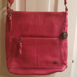 The Sak hot pink crossbody bag